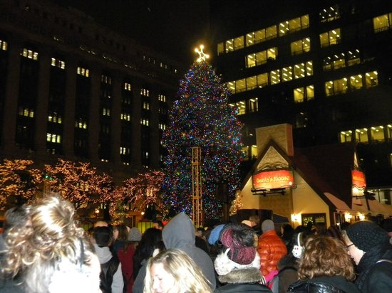 La Quinta Inn & Suites Chicago Downtown: 100th Annual Tree Lighting Ceremony
