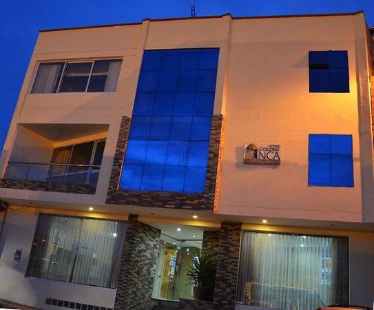 Frontis Hotel Golden Inca