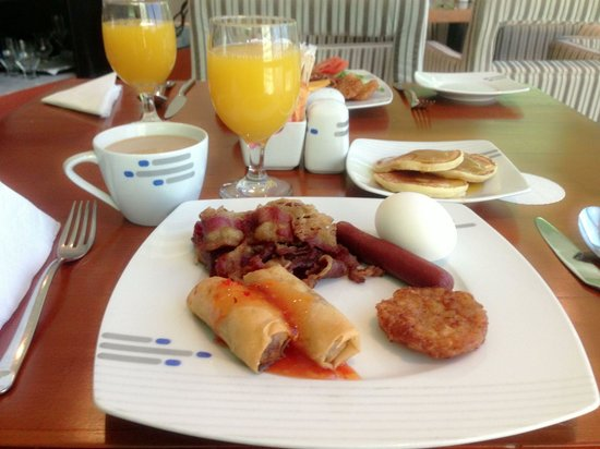 Hotel Diva : Breakfast time n i love it!!