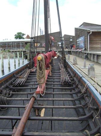 Musée des navires vikings de Roskilde : Sea Stallion of Glendalough Viking Longship full-sized replica
