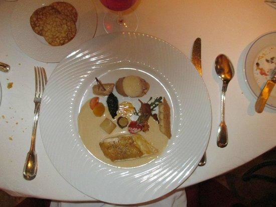 Georges Blanc Parc & Spa : Children's main course gourmet meal