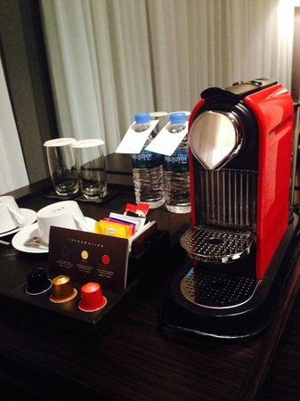THE PLAZA Seoul, Autograph Collection: Fress use of Nespresso coffee machine