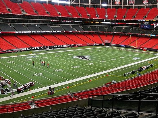 Georgia Dome: Section 227