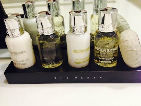 THE PLAZA Seoul, Autograph Collection: Molton Brown amenities