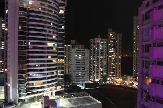 Plaza Paitilla Inn: Vistas desde una habitación
