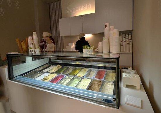 Veganista Ice Cream : à l'intérieur