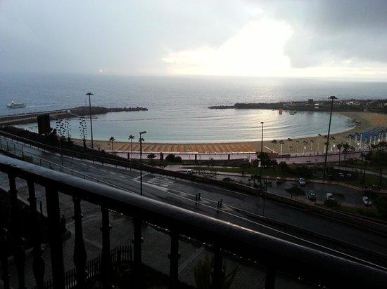 Aparthotel Mirador del Atlantico: Fasinerende utsikt også i regn