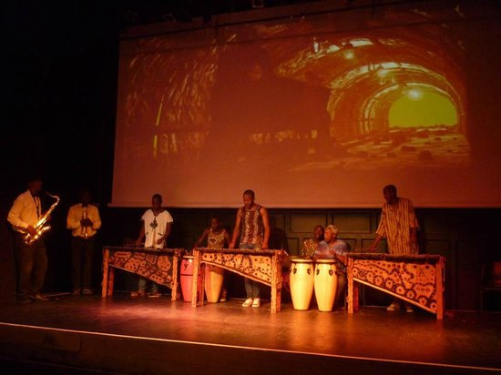 The African Dance Theatre: Musicians