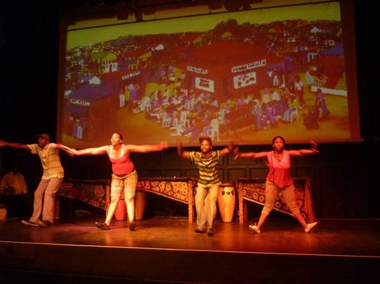 The African Dance Theatre: Modern day dance