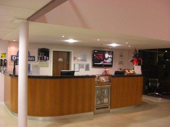 Days Inn Wetherby: Reception