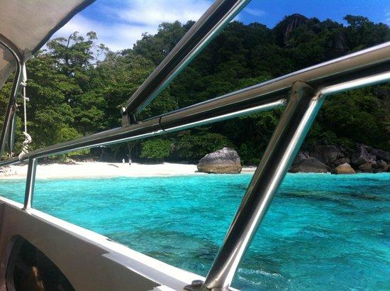 Similan Islands: amazing colour!