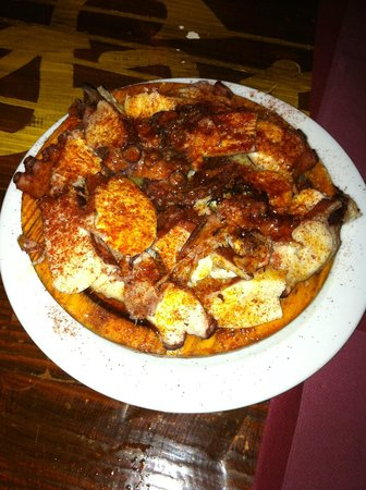 El Ensayo Jazz Bar: pulpo a la gallega