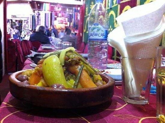 Restaurant Guenoune : il pranzo