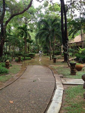 Lanta Sand Resort and Spa : grounds after rain!