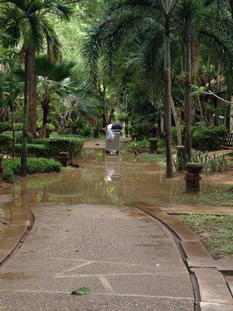 Lanta Sand Resort and Spa: hotel grounds