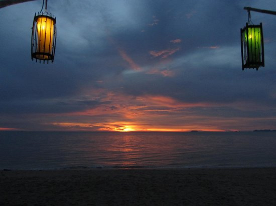 Lanta Sand Resort and Spa: view from beach bar