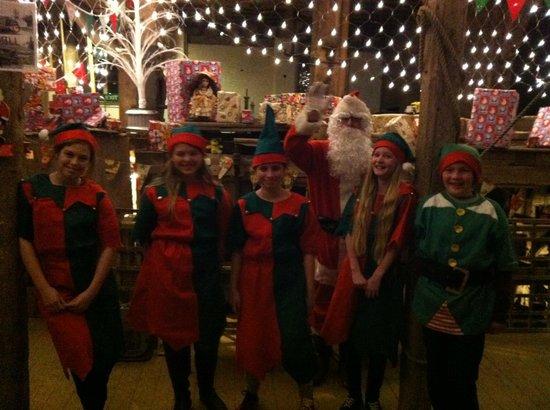 Kersey Mill Santa's Workshop