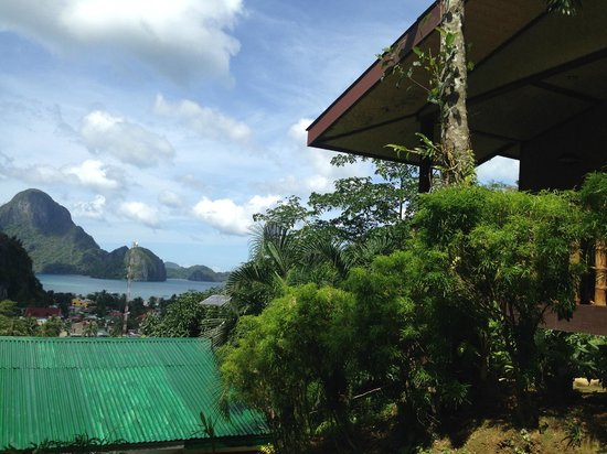 El Nido Viewdeck Inn: View