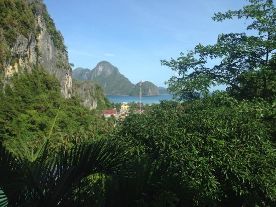 El Nido Viewdeck Inn: View from room no. 1