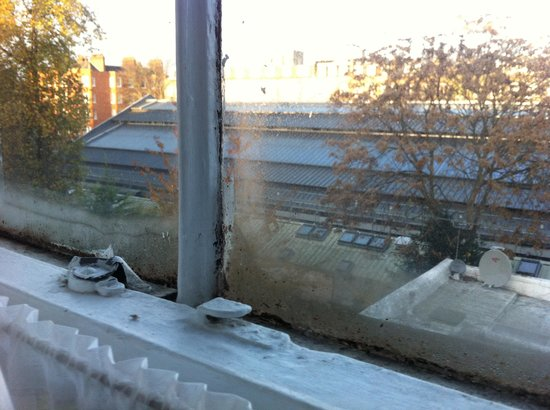 Windsor House Hotel : Ancora finestre sporche