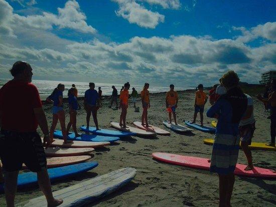 "Nex Generation Surfing School: Learning to ""HANG TEN"""