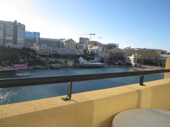 Marina Hotel Corinthia Beach Resort: View from the terrace of room 7404