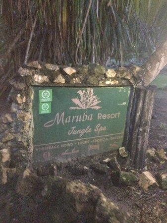 t Belize Boutique Resort & Spa : Maruba Entrance