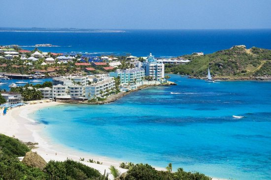 Oyster Bay Beach Resort: Dawn Beach  / Oster Bay Resort
