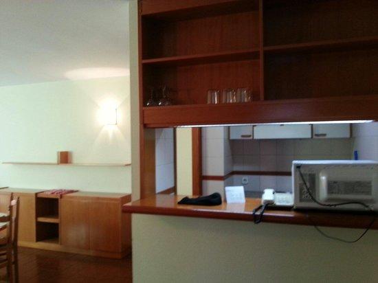 Hotel & Aparthotel Cosmos : cocina