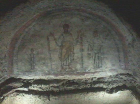 Catacombe di San Gennaro : particolare
