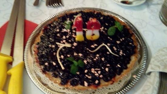 Babene: черничный пирог на 18-летие Нади