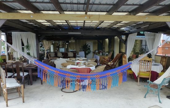 Hotel Casa de Espana : Restaurante La Pergola en La Terraza