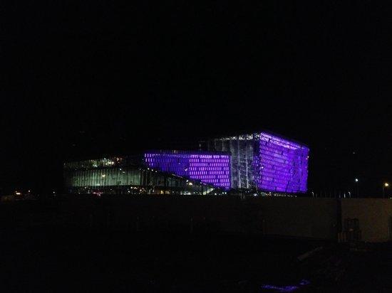 Harpa Reykjavik Concert Hall and Conference Centre: October  Nights.