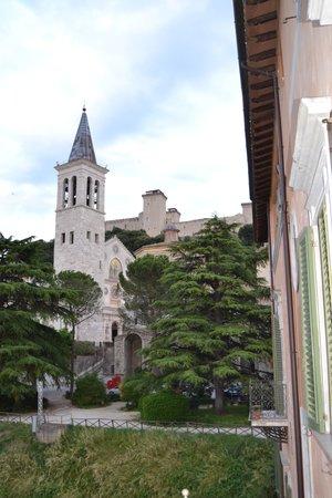 Palazzo Dragoni: dal balcone