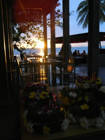 The COAST Resort - Koh Phangan: View from Restaurant