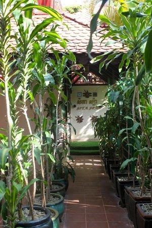 HanumanAlaya Boutique Residence: hotel grounds