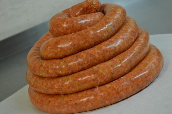 """Tyrone, PA: """"Our Own"""" Hot Italian Sausage"""
