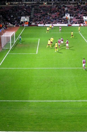 West Ham United FC: West Ham v. Arsenal