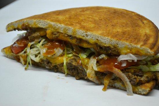 Mac's Market & The Gridiron : A yummy Taco Wedge!