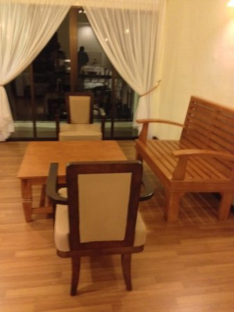 Bukit Gambang Resort City: The living area