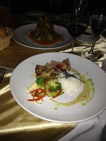 Villa Blanca Cloud Forest Hotel and Nature Reserve: one of the special dish they offered the night