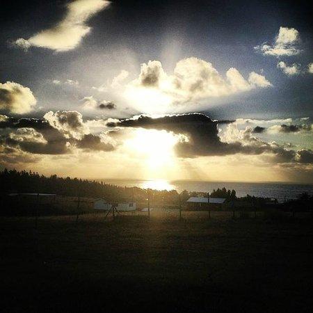 Hostal Pichilemu Casa Verde: Sunset