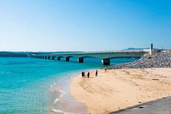 Okinawa Prefecture, Japon : Kouri island