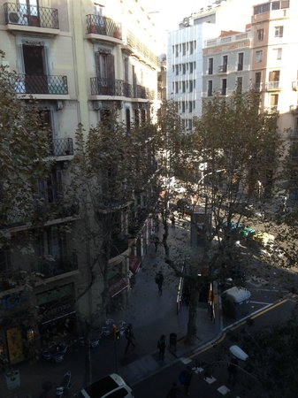 Olivia Balmes Hotel : view from room 421