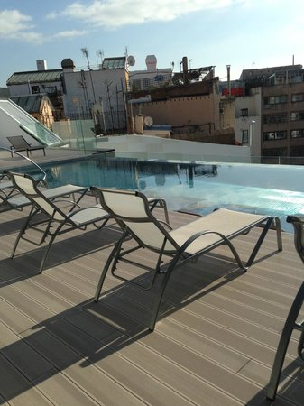 Olivia Balmes Hotel : view from pool