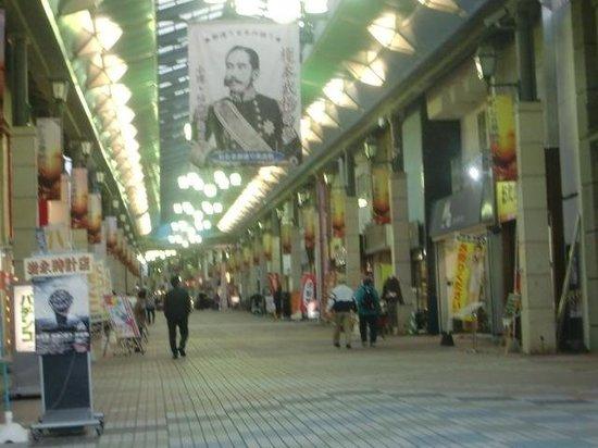 Otaru Miyakodori Shopping District: 平日だから静かだった