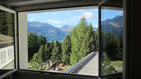 Berghotel Randolins: Room with a view