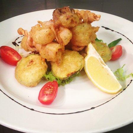 Spizzico: Calamari and zucchini fritte #specials