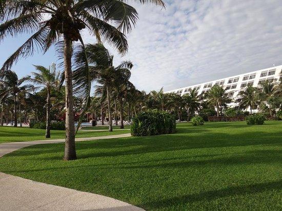 Grand Oasis Cancun : Jardin del Hotel