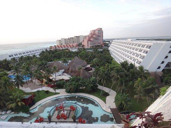 Grand Oasis Cancun : Vista desde la habitacion